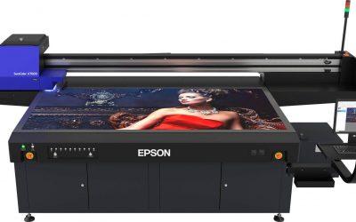 Erster Epson UV-Flachbett LED-Drucker